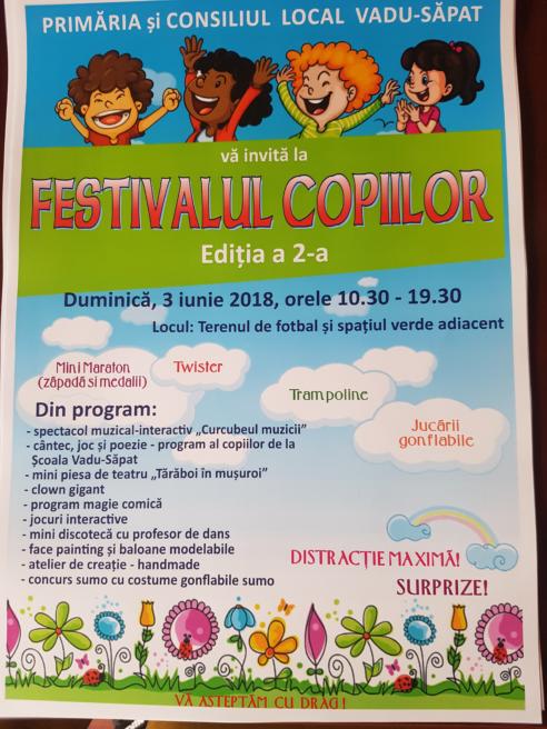 Festivalul copiilor!